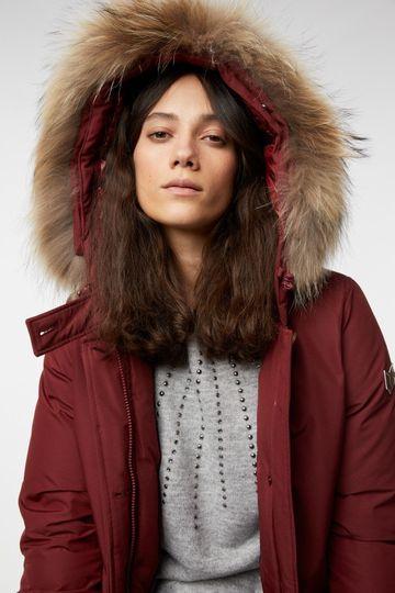 GAS | Brick Red Women's Holfrid S.W.Pk Solid Jacket