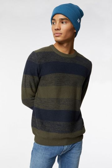 GAS | Elmwood Men's Gabir/R Striped Sweater