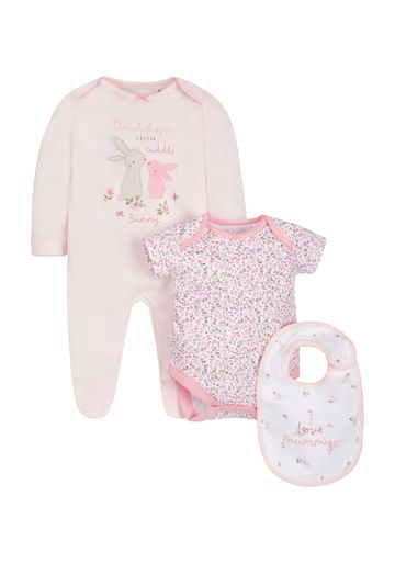 Mothercare | Girls Mummy And Daddy 3 Piece Set