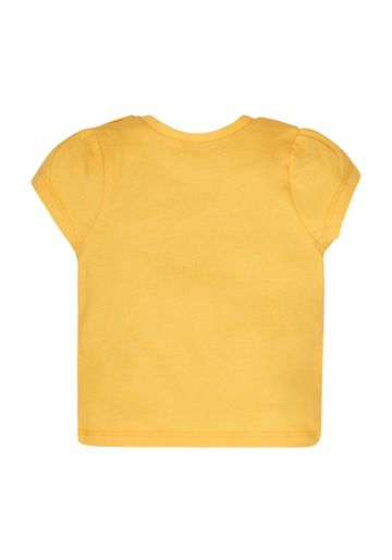 Mothercare | Girls Tulips And Daisies T-Shirt - Yellow