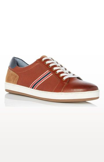 Dune London | Tan Torrin DI Sneakers