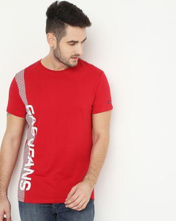 GAS | Scuba Place Red Crew Neck T-Shirt