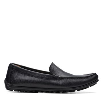 Clarks | HAMILTON FREE BLACK LEATHER LOAFERS