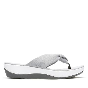 Clarks | ARLA GLISON LIGHT GREY TEXT CASUAL