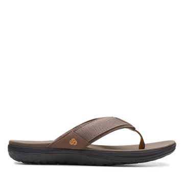 Clarks | STEP BEAT DUNE BROWN CASUAL CHAPPAL