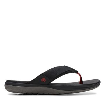 Clarks | STEP BEAT DUNE BLACK CASUAL CHAPPAL