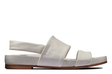 Clarks | PURE STRAP WHITE LEATHER