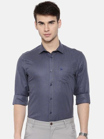 The Bear House | TBH PREMIUM HOUNDSTOOTH FORMAL SHIRT WITH SIDE PANELS