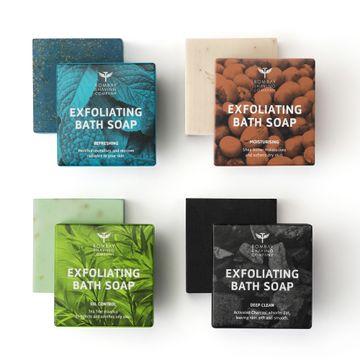 Bombay Shaving Company |  Exfoliating Bath Soaps, 100g (Pack of 4)