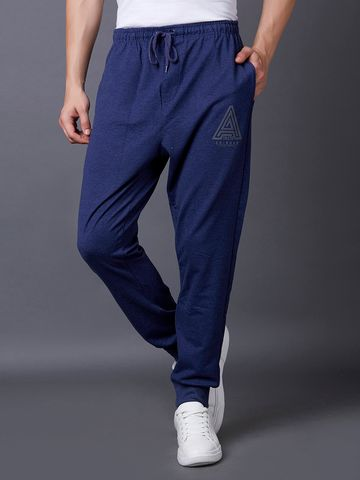 MARCA DISATI | Blue Solid Casual Joggers
