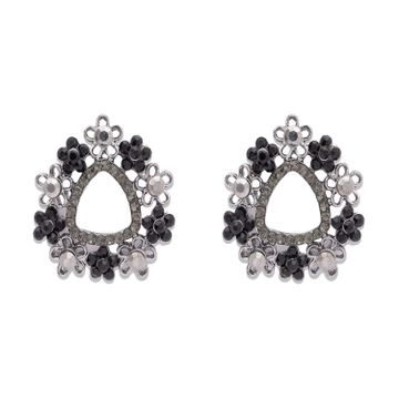 globus | Globus Metallic Statement Stud Earring