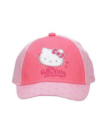 Mothercare | Kidsville Girls Cap Kitty-Pink