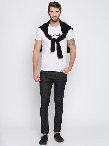 spykar   Spykar Black Solid Super Skinny Fit Jeans