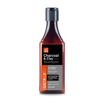 Ustraa | Shampoo - Charcoal & Clay - 200ml