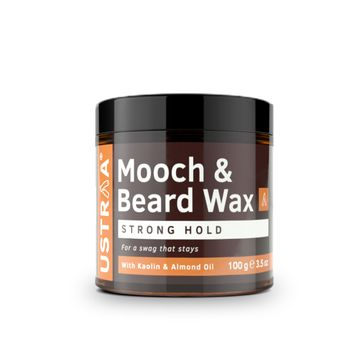 Ustraa | Ustraa Beard & Mooch Wax - Strong Hold - 100g