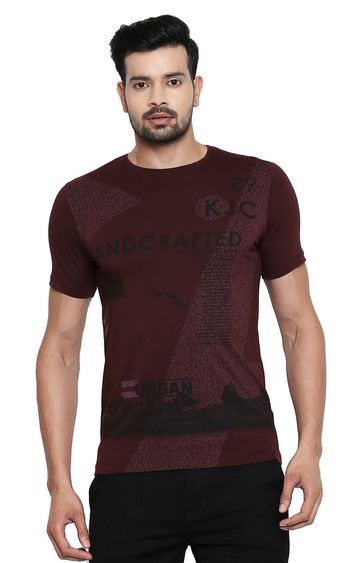 Killer | Killer Men's Maroon T-Shirts