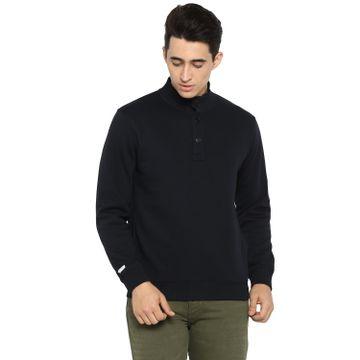 spykar | spykar Blue Cotton Blend Sweatshirts