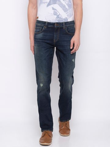 spykar | SPYKAR TINTED Cotton Straight Fit JEANS