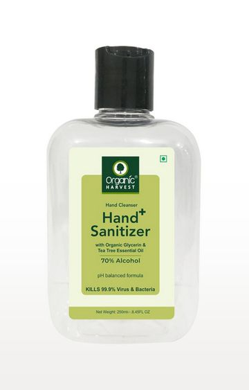 Organic Harvest | Hand Sanitizer(250ml) - Pack of 4