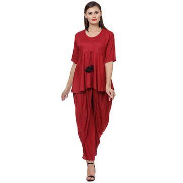 LABEL KARA | Classic Style Short Kurti with Salwar