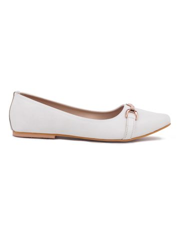 Trends & Trades   Bellies For Women (White)