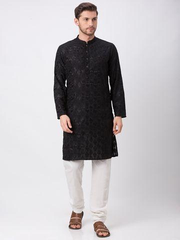 Ethnicity | Ethnicity Black Polyester Cotton Kp Set