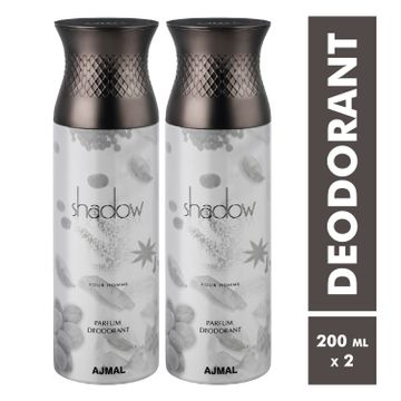 Ajmal | Shadow Homme Deodorant Spray - Pack of 2