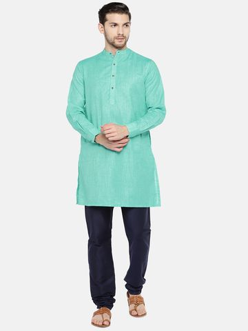 Ethnicity | Green Cotton kurta