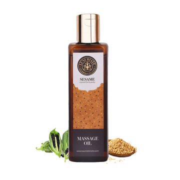 LUXURIATE   LUXURIATE 100% Pure Natural Sesame Oil for Hair,Body,Skin Care,Massage and Aroma Therapy,100 ml