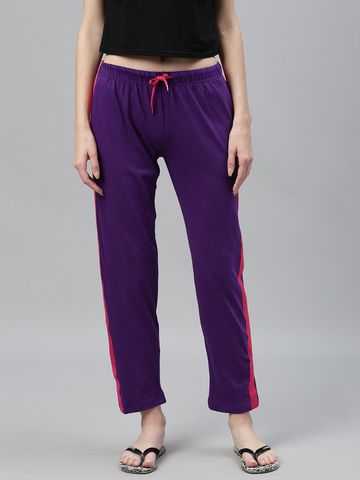 Kryptic | Kryptic womens 100% Cotton solid nightpant