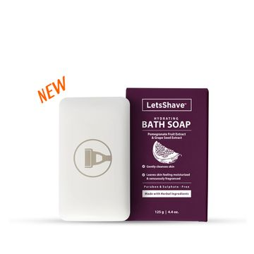 LetsShave | LetsShave Bath Soap - Hydrating & Relaxing Aromatic Therapy - 120g