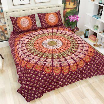 Pinkblock.in | Multi Cotton Neptol Bedsheets