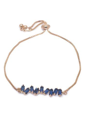 globus | Globus Gold and Navy Friendship Bracelet