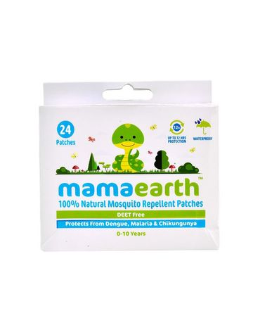 Mothercare | Mamaearth Natural Repellent Mosquito Patches For Babies - 24 Pcs