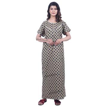 Pinkblock.in | Trendy Cotton Nighty Dresses