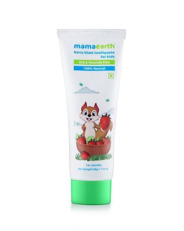 Mothercare   Mamaearth Berry Blast Toothpaste For Kids