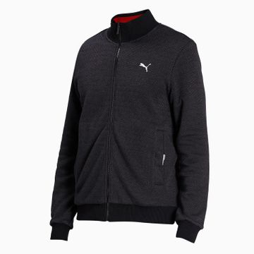 Puma | PUMA Reversible Sweat Jacket Puma Black-Red D LIFESTYLE TOP