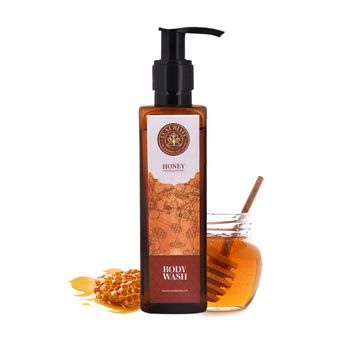 LUXURIATE | LUXURIATE 100% Honey Nourishing Face to Toe Body Wash Shower Liquid for Men and Women,200 ml
