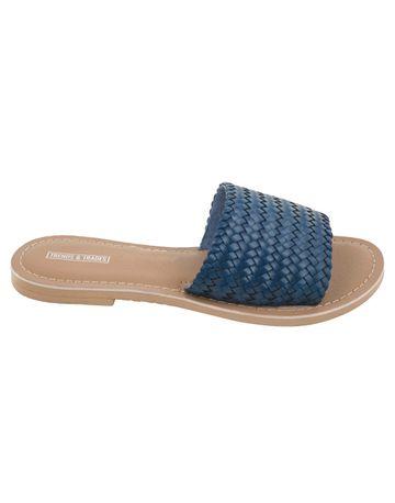 Trends & Trades   Women Blue Flats