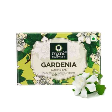 Organic Harvest | Organic Harvest Gardenia Bathing Bar, 110gm