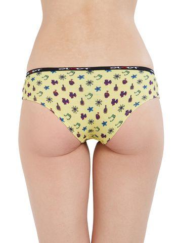 GLODT   Womens Girls Sunbathing Print Pima Cotton Hipster Panties