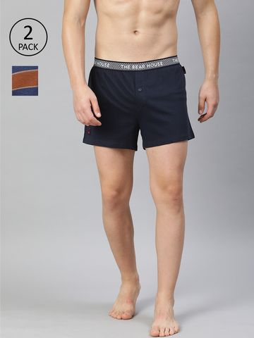 The Bear House | Men's Printed Knitted Boxers