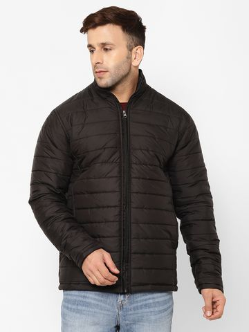 Eppe | Eppe Polyester Lightweight Puffer Jacket Winter Warm Coat Padded Insulated Quilted Zip-Off Casual Full Sleeves Zip Jacket for Men