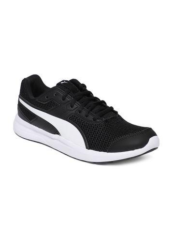 Puma   Black Puma Men Escaper Core Running Shoes