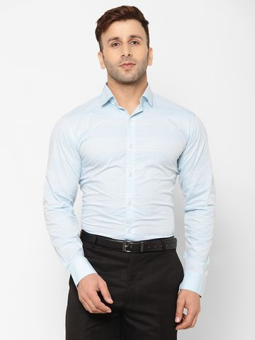 Eppe | EPPE Men's Solid Smart Fit Full Sleeves Cotton Casual/Partwear Shirt