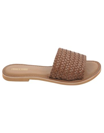 Trends & Trades   Women Tan Flats