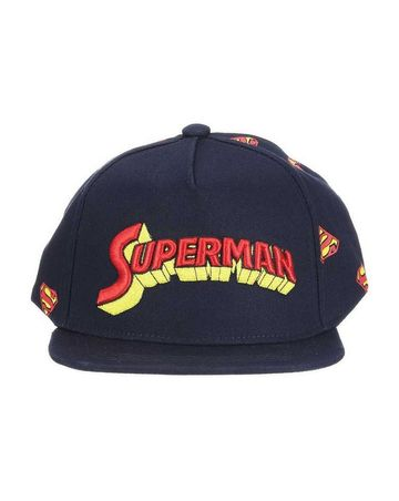 Mothercare | Kidsville Boys Cap Superman-Black