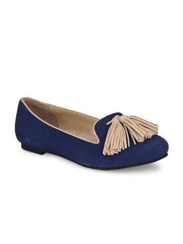 AADY AUSTIN | Aady Austin Women's Trendy Blue Round Toe Flats