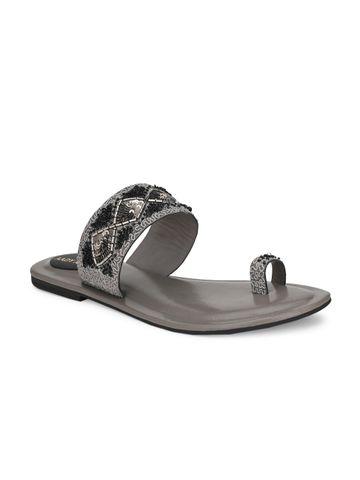 AADY AUSTIN   Aady Austin Women's Trendy Grey Round Toe Flats