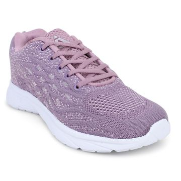 ATHLEO by Action | ATHLEO by Action Fabric Women Sports Running Shoes (Lilac)